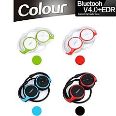 v4.0 + EDR stéréo bluetooth sport cou-bande casque avec microphone micro pour samsung iphone d'autres plus