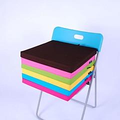 lily® 간단한 천으로 세척 사각형 스폰지 쿠션면 4cm 두께 40 * 40cm 의자 쿠션 사탕 녹색 HMD-4-28