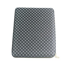 Plaid Wallet Style Genuine Leather Full Body Case for iPad 2/3/4