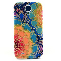 Yellow Sunflower Pattern Hard Case Cover for Samsung Galaxy S4 I9500