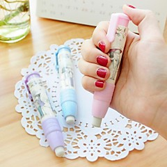Extension Type Cute  Design Plastic Eraser (Random Color x1pcs)