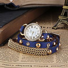 여성의 시계 보헤미안 체인 패턴 팔찌
