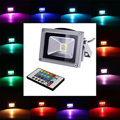 4w led floodlight 1 integrere led 900 lm rgb fjernstyret ac 85-265 v