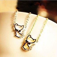 Golden / Silver Pendant Necklaces Wedding / Party / Daily / Casual Jewelry