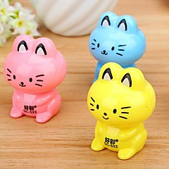 Cat Shaped Manual Pencil Sharpener(Random Color)