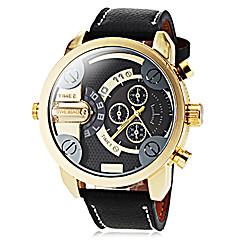 Masculino Relógio Elegante Relógio de Moda Relógio de Pulso Quartzo / PU Banda Legal Preta marca