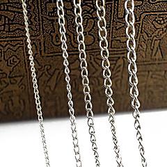 eruner®0.7mm legering kæder smykker DIY (1m, assorterede farver)