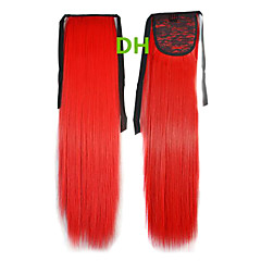 Hot Selling Peny Tail Hair Clips Farve Farverige Red Bar Engros Hair Extension Hair Pieces