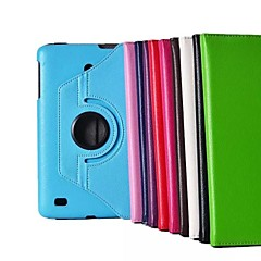 "8"" 360 Degree Rotation Lichee Pattern Stand Case for LG-V480 Tablet (Assorted Colors)"