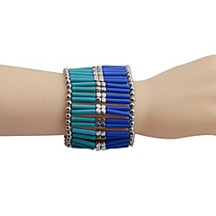 Lureme®Nations Wind Vertical Bar  Stoving Varnish Bracelet