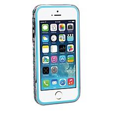 couleur mélangée cristal strass style incrusté Shengo ™ de luxe avec insert en TPU protection métallique pour iphone 5/5 ans