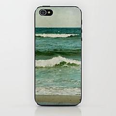 caso difícil padrão marinho verde para iPhone 5 / 5s