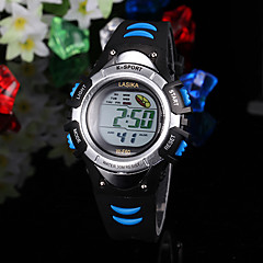 barn watch sports multifunktions lcd digital display