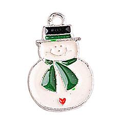 Alloy Snowmen Connectors for Bracelet