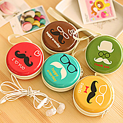 OOEE Tin Box Headset Package Earphone Box Cable Arrangement