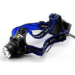 Torce frontali LED 2 Modo 1600 Lumens 18650 Batteria / AC Altro