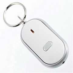 Key Chain Circular High Quality Prevent Loss / Whistle Silver ABS