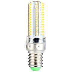 5W E14 Lâmpadas Espiga T 104 SMD 3014 600 lm Branco Quente AC 220-240 V