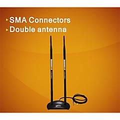 comfast® cf-ant2410da 20dbi antenne wifi sans fil 2,4 GHz omni RP-SMA aimant -black