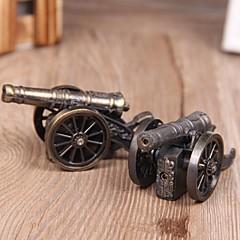 butane jet de métal coupe-vent créatif style de chariot de couleuvrine briquet à gaz