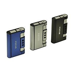 mini-portable alliage 2-en-1 aluminium éjection automatique de cas de cigarette jouets légers (couleur aléatoire)