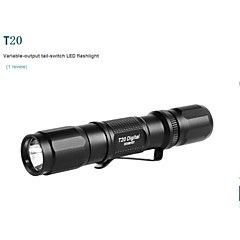 OLIGHT T20-G2 3-Mode CREE XP-G2 R5 LED  380Lumens(2x CR123A, 2x RCR123A, OR 1x 17670,Black)