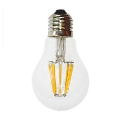 6W E26/E27 مصابيحLED G60 6 COB 700 lm أبيض دافئ ديكور AC 220-240 V