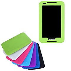 High Quality Silicone Rubber Gel Skin Case Cover for Lenovo A1000 ideaTab