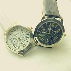 Women's Watch in Six Stitches Factory Direct Sale Quatz Geneva Watch (Assorted Colors) D0313