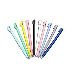 10 stykker fargeberørings stylus penn for Nintendo ndsl NDS Lite