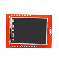 "diy 2,4 ""TFT LCD touch screen skjold udvidelseskort for Arduino uno"