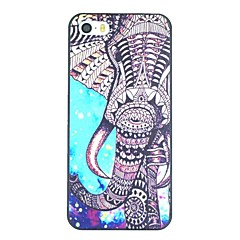 Elephant And Starry Sky Pattern PC Hard Back Cover Case for iPhone 5/5S