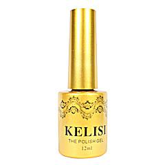 1pcs kelisi gel de color ultravioleta de metal profesional no.1-6 (12 ml, color clasificado)