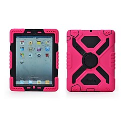 Defender Shock/Water Proof 360 Rotating Stand Case for iPad2/3/4(Assorted Colors)