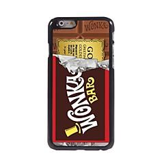 iphone 7 plus csokoládé kialakítású alumínium kemény tok iPhone 6