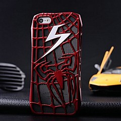 Cobwebs Pattern Metal Hard Case for iPhone 5/5S (Assorted Colors)