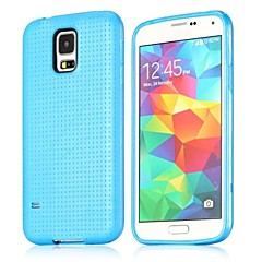Flexible Mesh Design TPU Protective Case for Samsung Galaxy S5 I9600(Assorted Colors)