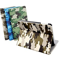 DSD® Luxury Supper Slip Auto Sleep/Wake Up Camouflage PU Leather Full Body Case for iPad 2/3/4 (Assorted Colors)
