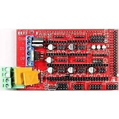 rampas robotale 1.4 mendelprusa reprap tablero de control de la impresora 3d - rojo + negro