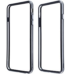 Protective Plastic Bumper Frame Case for iPhone 6 Plus (Assorted Colors)