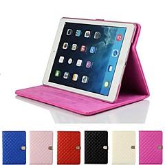 Rhombus timantti magneettinen solki nahka Smart Case suojus seistä Apple iPad 2/3/4 (eri värejä)