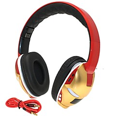 hi-fi-jern mand 3.5mm tf kortplads foldbar bas musik stereo trådløse Bluetooth hovedtelefoner med mikrofon tf fm aux