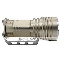 LT-1023 5-Mode 5×Cree XML-T6 LED Flashlight(3800LM,4×18650,Golden)