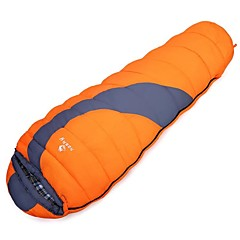Sleeping Bag Mummy Bag Single +8°C Hollow Cotton 300g 220X80cm Camping / TravelingMoisture Permeability / Moistureproof / Waterproof /
