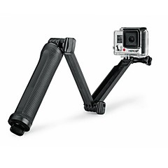 Super Multi-function 3-way Mount Monopod Tripod Grip for GoPro Hero4 /Hero3 + /3 /SJ 5000/4000