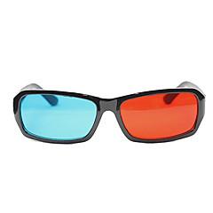 anaglyphe prime aucune image fantôme lunettes 3D rouge et bleu
