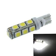 t10 (149 168 W5W) 6.5W 13x5060smd 480-560lm 6500-7500k luce bianca per lampada auto luce auto (dc12-16v)