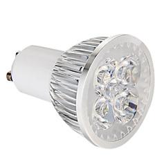 4W GU10 Focos LED 4 LED de Alta Potencia 360 lm Blanco Natural Regulable AC 100-240 V