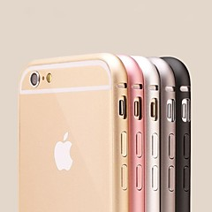 HHMM Thin and Light Metal frame for iPhone 6 Case(Assorted Colors)