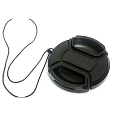 Dengpin® 37mm Camera Lens Cap for Panasonic DMC-GX1 GX7 GF5 GF6 GK X14-42 with a Holder Leash Rope
